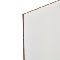"Chromaluxe Phenolic 1 Sided Matte White 49"" x 48.3"" x .05"""