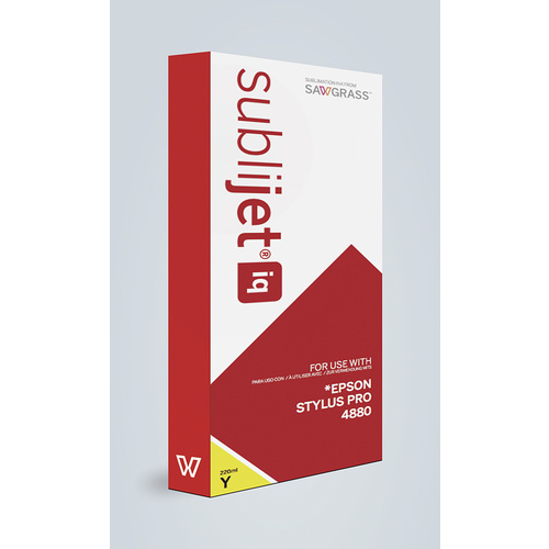 Sublijet IQ 4880 Yellow 220ml