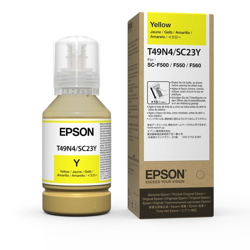 Epson Dye Sublimation Ink for F560 Yellow 140ml