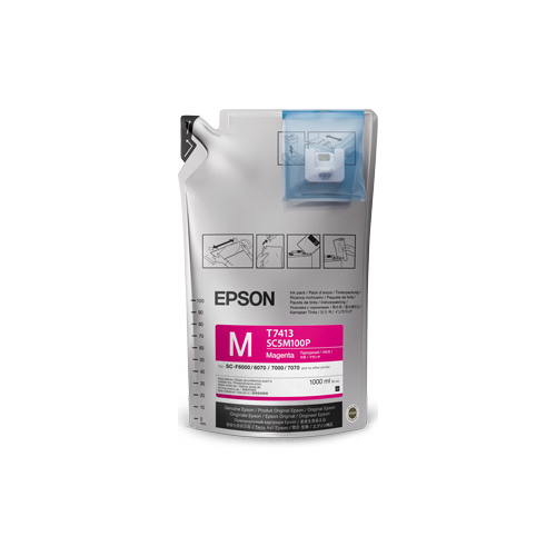 Epson Ultrachrome DS Sublimation Ink Magenta 1 Litre Ink Bag