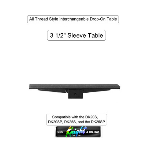 "DK 3 1/2"" Sleeve Table - All Thread Style"