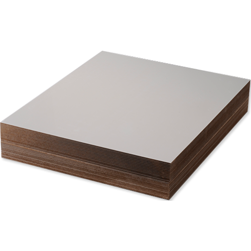 Unisub Hardboard Gloss White Double Sided